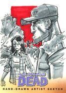 11 Eduardo Garcia Sketch Card
