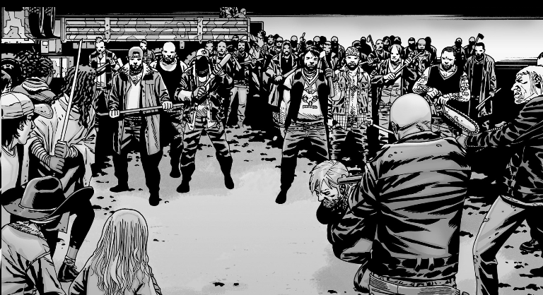 The Saviors Comic Series Walking Dead Wiki Fandom
