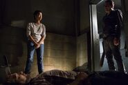 Sasha Williams Puts Down David 7x15