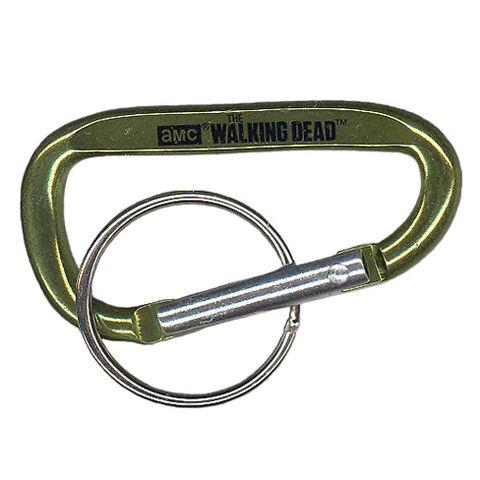 File:The Walking Dead - Carabiner Clip (Season 2) - GREEN (2.5 inch).jpg