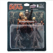 The whisperers pvc figure 2-pack (grey)
