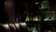 MTS Michonne found bunch of walkers in the fish tank
