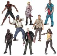 The Walking Dead TV McFarlane Building Sets Series 2 Blind Pack 2