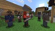 Minecraft walking dead