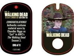 File:The Walking Dead - Dog Tag (Season 2) - Chandler Riggs CR6 (AUTHENTIC WORN COSTUME PIECE).jpg