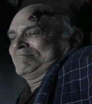 Dead elderly man