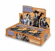 The Walking Dead Comic Trading Cards Set 2