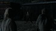 Carol cornered