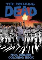 TWD Rick Grimes Coloring Book
