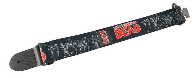 File:The Walking Dead Zombie Group Logo Guitar Strap.jpg