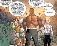 Issue 75 future Tyreese, Rick Axel and Martinez