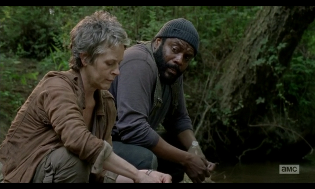 File:5x02 Carol & Tyreese Convo.png