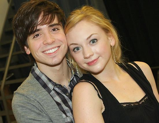 File:Emily with some lucky dude on the back stage.JPG
