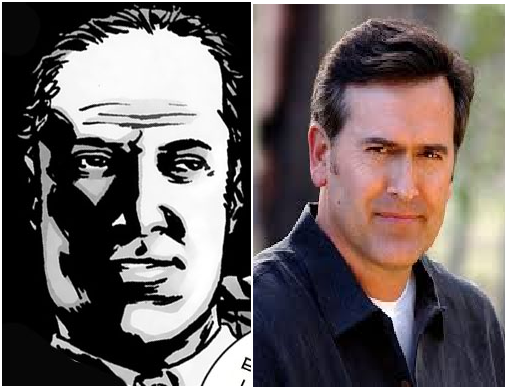 Bruce campbell as pete, not negan