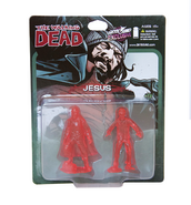 Jesus pvc figure 2-pack (translucent red)