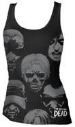 "THE WALKING DEAD ""WALKER FACES"" TANK TOP"