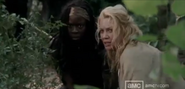 Andrea and Michonne.S3.1.1