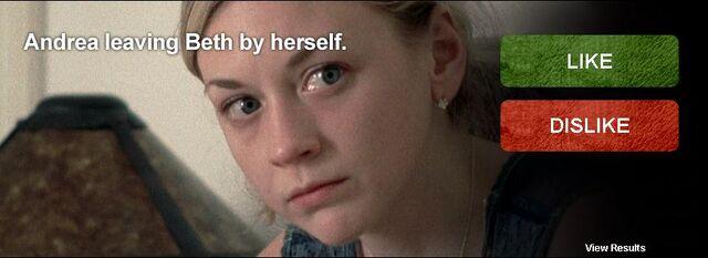 File:Andrea leaving Beth by herself.JPG