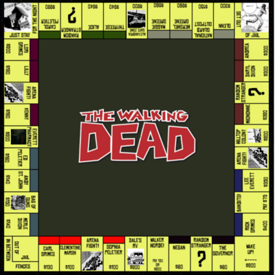 The Walking Dead Monopoly (3)