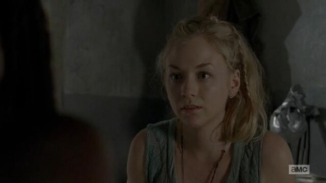File:Beth listening to Michonne while treating her.JPG
