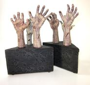 Zombie Hand Bookend 15