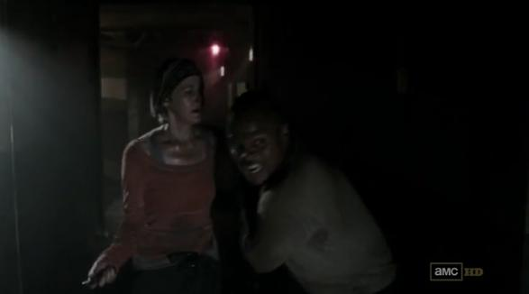 File:Carol and T-Dog running away.JPG