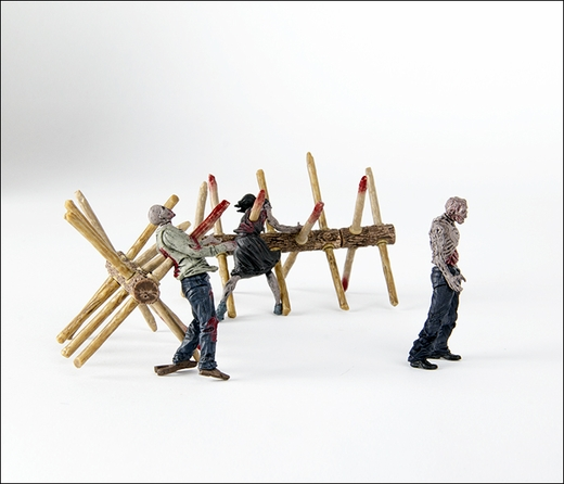 File:The Walking Dead TV Walker Barrier Building Set 4.jpg