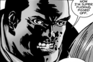 Issue 107 Negan Pissed