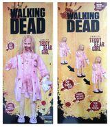 The Walking Dead Life-Size Statue Teddy Bear Girl 4