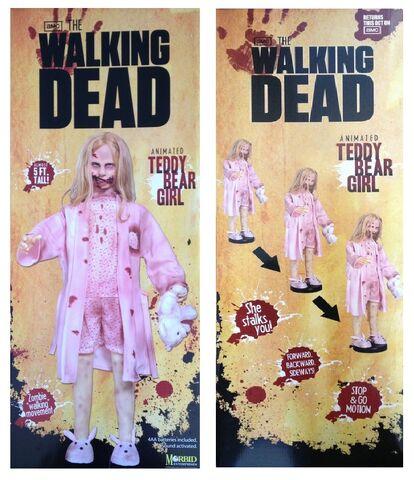 File:The Walking Dead Life-Size Statue Teddy Bear Girl 4.jpg