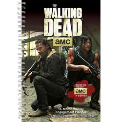 The Walking Dead 2016 Weekly Engagement Planner