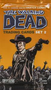 Walking dead trading cards
