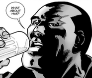 Issue 111 Negan Drink