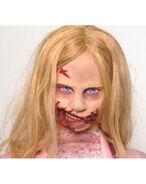 The Walking Dead Life-Size Statue Teddy Bear Girl 3