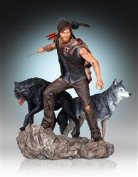 File:Daryl and the Wolves Statue.jpg