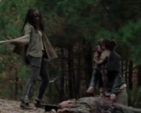 File:Nikki O'Neal Cocroft as zombie.png