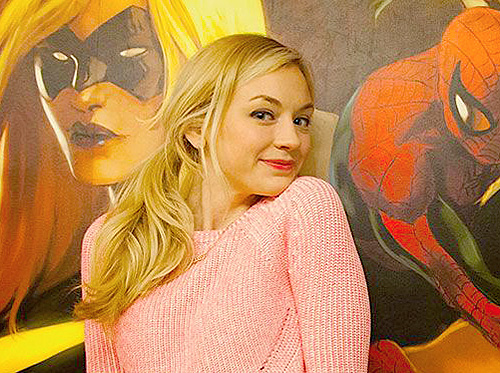 File:Emily Kinney so cute marvel spider man.jpg