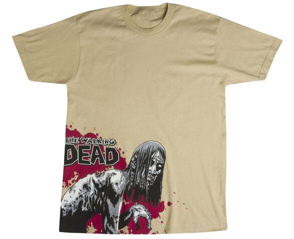 """File:THE WALKING DEAD """"WALKER"""" Shirt.JPG"""