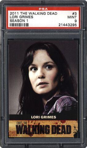 File:Trading Cards Season One - 3 Lori Grimes.jpg.jpg