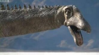 Diplodocus Herd - Walking with Dinosaurs Ballad of Big Al - BBC