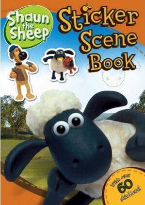 ShaunSheepStickerSceneBook