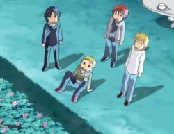 The four bishonen shocked