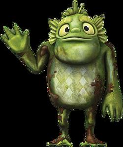 Stan of the Swamp from Wallykazam!