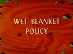 Wet Blanket Policy (TV Title)
