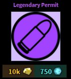 Legendary Permit
