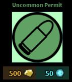 Uncommon Permit