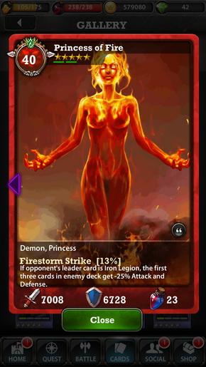 Princess of Fire 40
