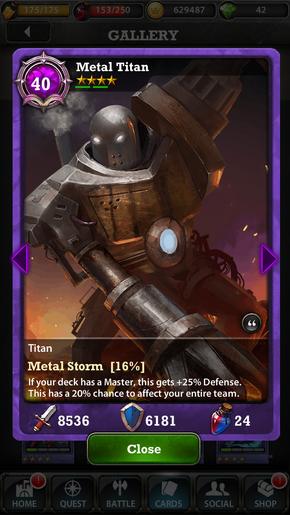 Metal 20