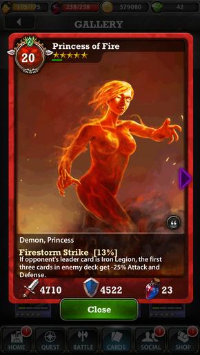 Princess of Fire 20