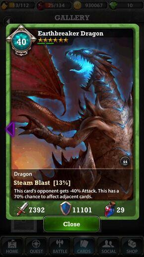 Earthbreaker Dragon